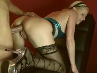 Anal  Doggystyle Hardcore Mature Stockings