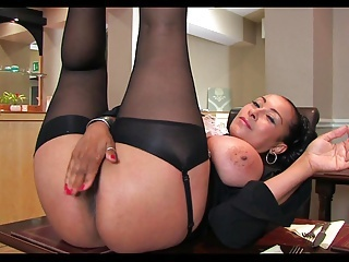 Big Tits British European Masturbating  Natural Pornstar Stockings