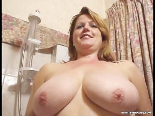 busty;big-boobs;huge-tits;large-breasts;mom;mother;wife;cougar;mommy;european;british;wet;shower;mature