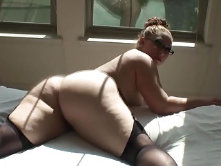 Amateur Ass Chubby Glasses Homemade  Stockings