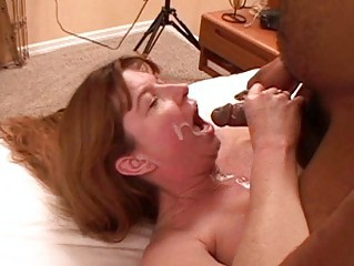 horny brunette young gentleman dominant high shoes obtains facial sperm