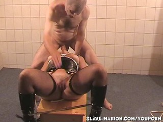 slave join in matrimony marion dominated by two guys