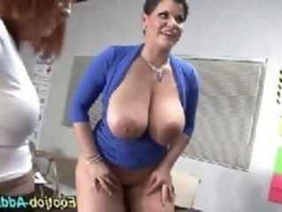 Big Tits  Natural Pornstar School Teacher