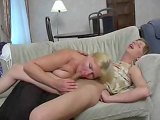 Blowjob Mom Old and Young Russian