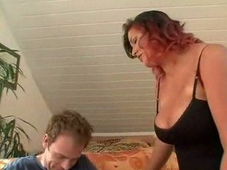 housewife with huge breast