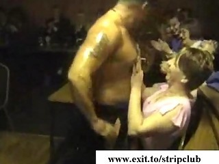 naughty sex partners attacking libidos inside stripper club