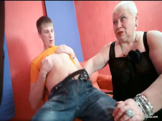horny blonde milf nurse lucia blows