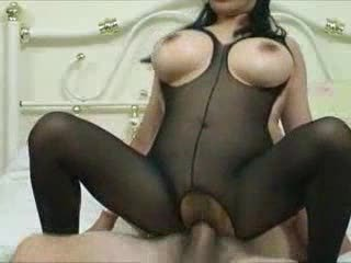 Asian  Big Tits Hardcore  Pantyhose Riding