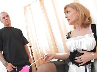 Maid Mature Mom Old and Young Uniform