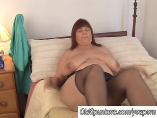Amateur  Mature  Solo Stockings