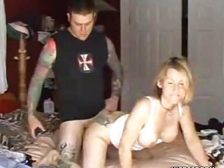 Amateur Cute Doggystyle  Tattoo Wife