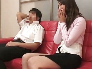 mother and son watching sex together experiment