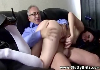 Ass Daddy Old and Young Spanking Teen