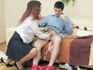 Amateur Glasses Handjob Mature Mom Old and Young Russian Teacher