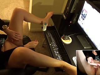 Amateur;Masturbation;Orgasms;Voyeur;Webcams