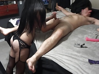 Anal;Femdom;Fucking Machines;Sex Toys;Strapon