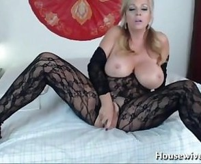MILF Bentley with big tits and sexy lingerie