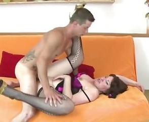 Kinky mature mother From AMATEURWIVESXXX.COM suck and fuck her young lover
