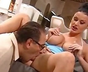 Big Tits Daddy Licking  Pornstar