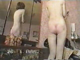 Amateur Homemade Russian Vintage Wife