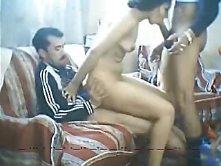 Arab Blowjob  Threesome Webcam Wife