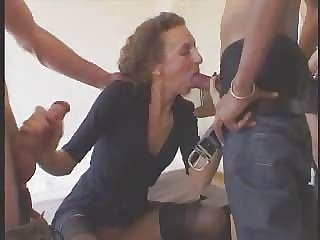 Amateur  Blowjob Casting Clothed European French Gangbang Mature