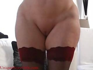 Pussy Shaved Stockings