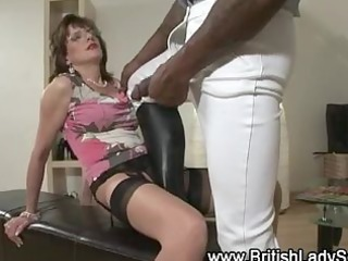 British European Interracial  Pornstar Stockings