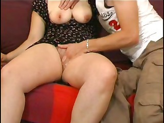 amateur couple with busty golden-haired acquires fisted and drilled hard