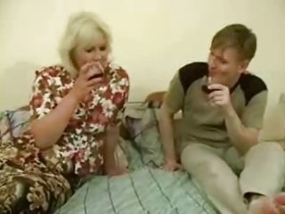 large drunk mamma receives fucked by teen