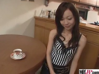 Asian Cute Japanese Kitchen  Skinny Small Tits