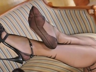 Feet Fetish Pantyhose Stockings Strapon
