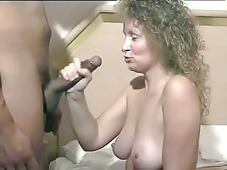 Amazing Big cock Handjob MILF Natural Strapon Vintage