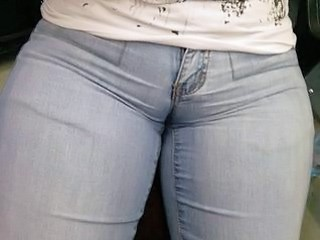Jeans Pussy Strapon