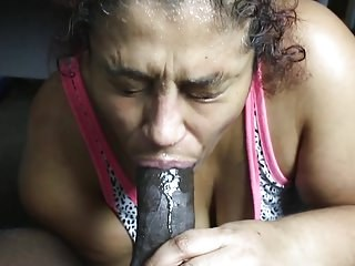 Amateur Blowjob Latina Mature