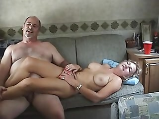 Amateur Homemade MILF Natural Strapon Wife