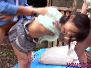 Asian Forced Hardcore Pain Small Tits Strapon Teen Young
