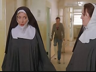 Celebrity Nun Strapon Uniform Vintage