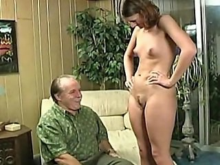 Daddy Daughter Old and Young Small Tits Strapon Teen Vintage Young