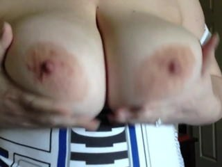 Big Tits MILF Natural Nipples Webcam