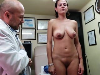 Doctor MILF Natural Nipples Strapon