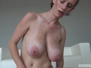 Big Tits European MILF Natural Nipples SaggyTits Strapon