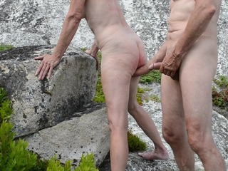Amateur Mature Nudist Older Outdoor Strapon Wife