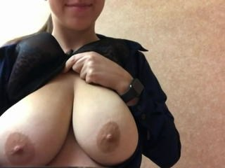Amateur Big Tits MILF Natural Nipples Strapon