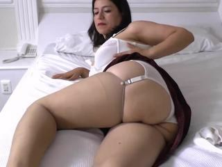 Chubby Lingerie Mature Mom Stockings