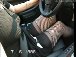 Amateur Car Fishnet Mature Stockings Strapon
