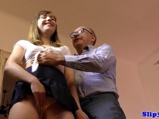 Daddy Old and Young Strapon Student Teacher Teen Young