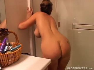 Ass Bathroom Strapon Wife