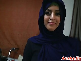 Arab Cute MILF Strapon