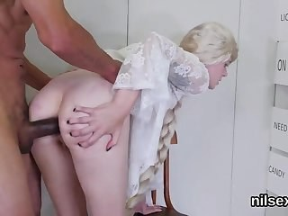 Anal Big cock Blonde Clothed Hardcore Long hair Strapon Teen Young